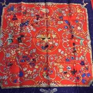 Authentic Hermès Silk Scarf